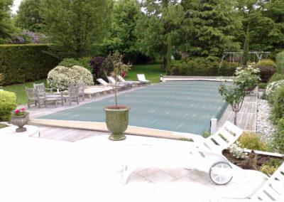 Installation du chauffage d'une piscine à soisy-sur-seine