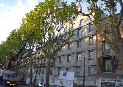 Installation d'unités extérieures sur le toit d'un bâtiment Boulogne-billancourt 92