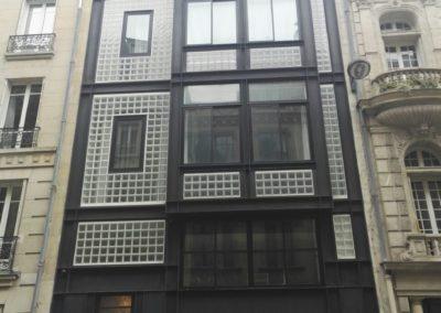 Installation d'un hôtel particulier à Paris 75