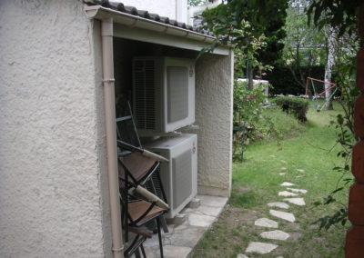 Installation d'une maison avec deux unités extérieures