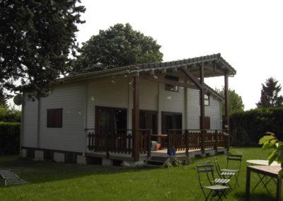Installation d'une maison
