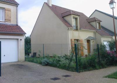 Installation d'une maison récente